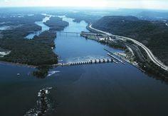 Mississippi River, Onalaska, Wis
