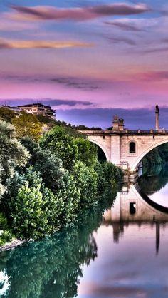 A snapshot of Corso Francia in Italy.