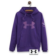 Under Armour Hoodie MAY THE HORSE BE WITH YOU Purple Women's Medium  | eBay