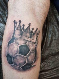 Resultado De Imagen Para Tatuajes De Balones De Futbol 3d Pierna