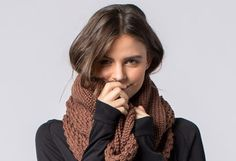 HARPER KNIT SCARF Envelop your favorite lady in warmth with this chunky knit scarf by Krochet Kids. Each one is made in Peru and creates jobs for skilled artisan women. from from Krochet Kids Sustainable Style, Sustainable Gifts, Sustainable Fashion, Chunky Knit Scarves, Holiday Gift Guide, Peru, Artisan, Gift Ideas, Knitting