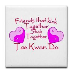 Friends who kick together...