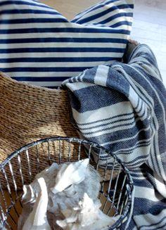 Coastal Blue & White Cloth