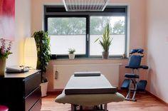 Behandlungsraum der Physiotherapie Dresden Bühlau