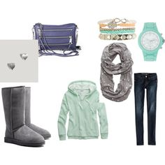 """mint"" by peace-mel on Polyvore"