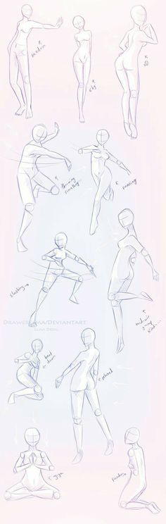 Dancing, ice skating, body positions; How to Draw Manga/Anime