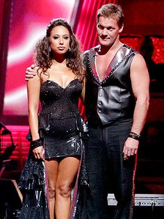 Dancing with the Stars Elimination: Chris Jericho, Cheryl Burke ...