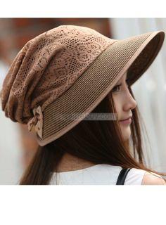 Lace Knit Floral #Hat #Style