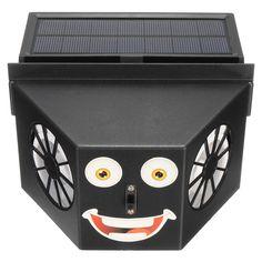 Solar Powered Car Window Dual Blades Air Vent Ventilator Cooling Fan Radiator