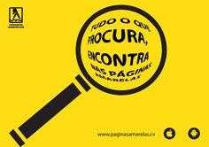 Tudo o que procura, encontra nas Páginas Amarelas...www.paginasamarelas.cv