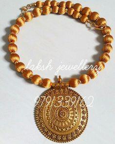 Fancy Jewellery, Thread Jewellery, Tassel Jewelry, Jewelery, Silk Thread Necklace, Beaded Necklace, Beaded Bracelets, Necklaces, Fashion Earrings