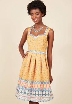 Pleasant Presence Floral Dress in 3X, #ModCloth