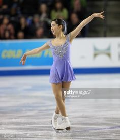 Haruka Imai of Japan skates in the ladies free skate during the Skate America competition at the ShoWare Center on October 21, 2012 in Kent, Washington.