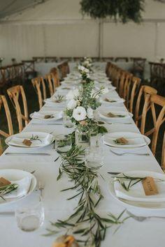 Green Wedding, Floral Wedding, Wedding Colors, Our Wedding, Wedding Flowers, Olive Wedding, Long Table Wedding, Neutral Wedding Decor, Olive Branch Wedding