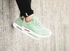 The Nike Air Max Tavas SE is rendered in Enamel Green for its latest colorway this season. Find it at Nike stores overseas first. Nike Water Shoes, Air Max Sneakers, Sneakers Nike, Discount Nikes, Nike Air Max, Fashion Outfits, Fitness, Green, Enamel