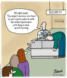 Airport Scanner Alternative