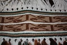 Taniko Detail on full feather korowai Maori Designs, Maori Patterns, Flax Weaving, Silver Fern, Maori Art, Weaving Techniques, Ferns, Creative Inspiration, Feather