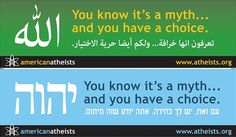 friendly atheists | American Atheists' Arabic and Hebrew billboards were supposed to go ...