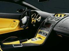 Fondo de Pantalla de Interior del Lamborghini Gallardo
