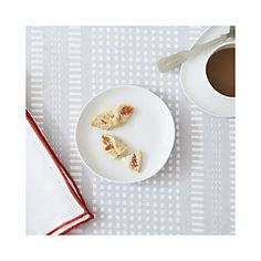 Como White Dessert Plate $6.97