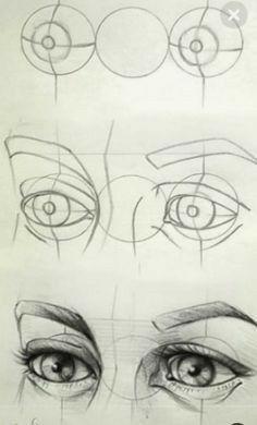Cool Art Drawings, Pencil Art Drawings, Realistic Drawings, Art Drawings Sketches, Eye Drawings, Drawing Faces, Pencil Sketching, Art Illustrations, Drawing Hair