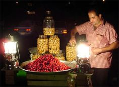 street vendors in tehran