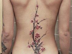Découvrez 60 magnifiques tatouages aquarelle de Chen Jie