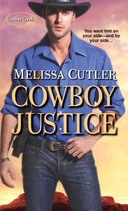 Cowboy Justice is Book 2 in my Catcher Creek series. It's an October 2013 release and features Sheriff Vaughn Cooper and cowgirl Rachel Sorentino.