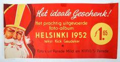 Sinterklaas affiche  HELSINKI 1952