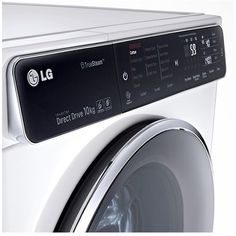 LG F14U1JBS2 10kg 1400rpm Freestanding Washing Machine - White | Appliances Direct