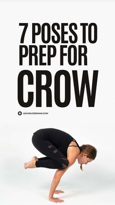 Crow pose is no easy feat. It requires strength, balance, and stamina. So practice these 7 prep poses to build strength for bakasana to fly with ease in no time! 💪 Yoga Inversions, Yoga Moves, Yoga Sequences, Easy Yoga Poses, Challenging Yoga Poses, Yoga Sequence For Beginners, Eagle Pose, Home Yoga Practice, Exercises