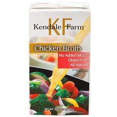 Kendale Farm Chicken Broth, 32 oz.