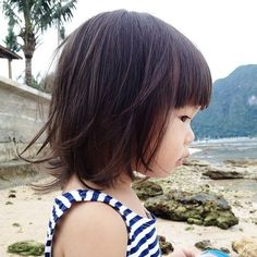 Toddler Haircut (when it's long enough). Toddler Girl HaircutsHaircuts For Little ...