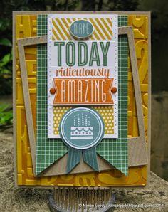Nance Leedy | Canopy Crafts | Amazing Birthday display sample