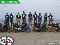 #Hurricanes - All teams at the Promenade #ChaseHurricanes #ChaseTheMonsoon
