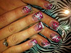 Wild by MissMary24 - Nail Art Gallery nailartgallery.nailsmag.com by Nails Magazine www.nailsmag.com #nailart