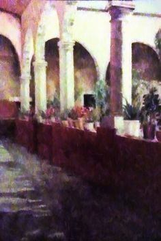 Arches and Columns Painting