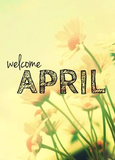 Welcome April!!- (Pin Marker)