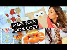 5 Easy Fall Room Decorations! | Bethany Mota - YouTube