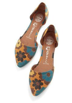 Run the Flower Show Flat by Jeffrey Campbell Cute Flats, Cute Shoes, Me Too ba9681ab9c5