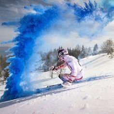 Color run! @marcel hirscher @philipplatzer #photooftheday #amazing #sport #action