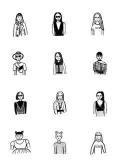 People Illustration, Photo Illustration, Wedding Theme Inspiration, Pictogram, What Is Love, Monochrome, Pop Art, Black And White, Portrait