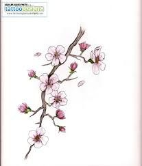 cherry blossom tattoo wrist
