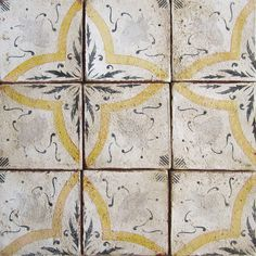Bonjour Paris 1 is a custom terracotta tile from our collection of hand-painted tiles inspired by the Paris Metro.
