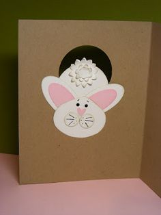 A La Cards: Some Easter cuteness...
