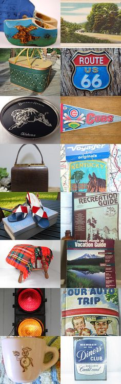 Summer Road Trip!!!  EPSTEAM Thursday Night Blitz by Bonnie Bowers on Etsy--Pinned with TreasuryPin.com