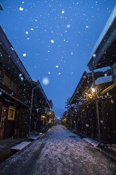 Takayama, Japan 高山 冬景色