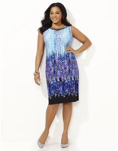 Impressionist Art Dress | Catherines