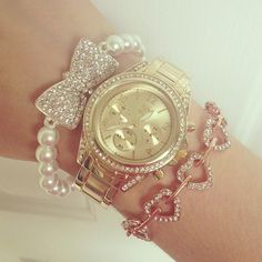 Silver gold and rose gold #beautifulbracelets