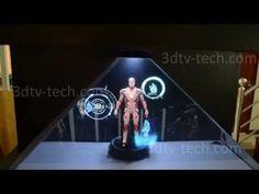 Hologram pyramid 3D - YouTube